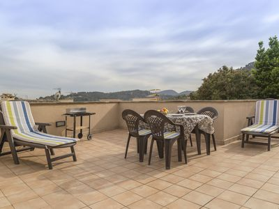 Photo for Economic apartment for 2+1 guests with Tramuntana views from a roof terrace