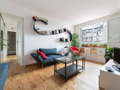 Photo for Very nice apartment near Nation - Ideal for a family
