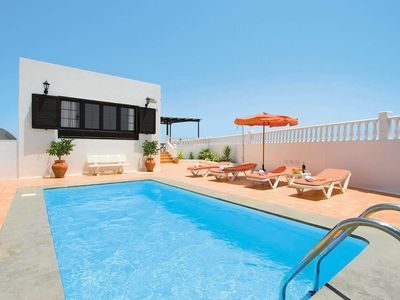 Photo for Spacious villa with plenty of modern entertainment options as well as a heated pool