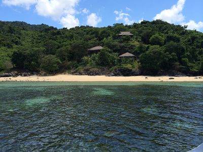 A exceptional white soft sand and crystal clear waters in this unspoilt paradise
