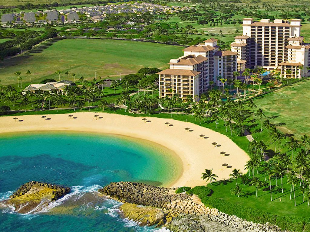 We Are Located At The Beach Villas In Ko Olina Resort
