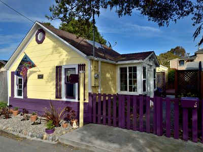 Photo for Quiet and Charming Historic Redwood Cottage in Pacific Grove with Wi-fi