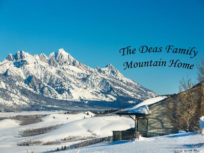 Photo for Remarkable Teton views conveniently located between Jackson Hole & Teton Village