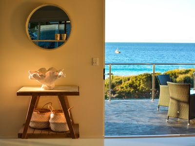 Photo for BINNY BEACH HOUSE Beachfront at Binalong Bay on the Bay of Fires