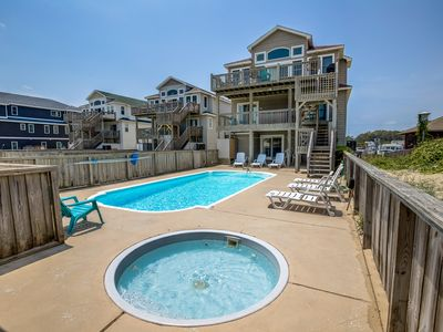 Photo for All Seasons | Oceanfront | Private Pool, Hot Tub