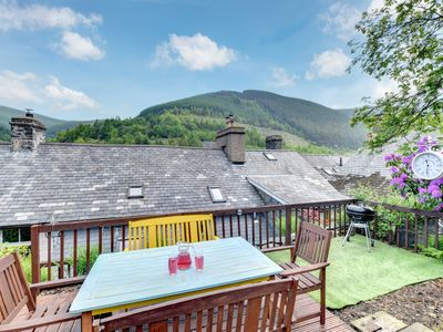 Photo for Located in southern Snowdonia, this welcoming cottage has been thoughtfully renovated from two forme
