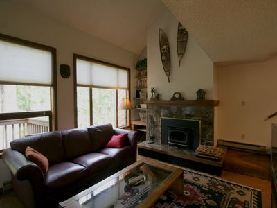 Photo for Snowater Condo #80 - Fireplace - Dishwasher - Washer/Dryer - Sleeps 4