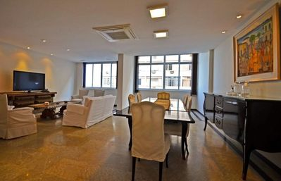 Photo for Spacious and comfortable 4 bedrooms apartment in Copacabana for 8 persons!