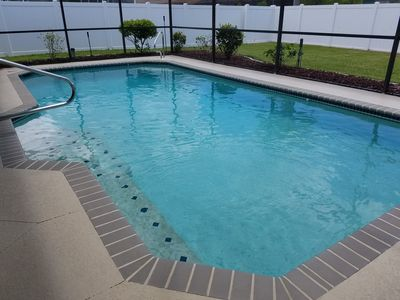 Photo for Pelican Villa! Beautiful, fully remodeled private pool home MINUTES to beach!