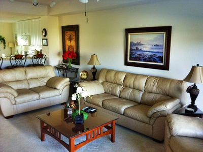 Family Room - Sofa is a Sofabed