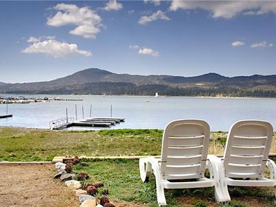 Photo for Lakefront Paradise: Beautiful Views and Walk to the Village
