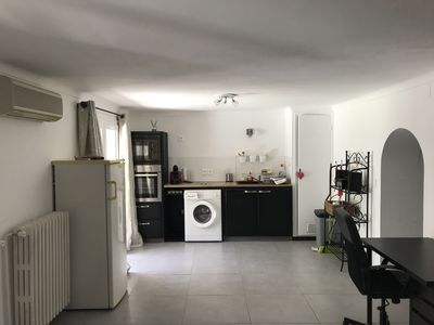 Photo for APARTMENT T2 GROUND FLOOR WITH SWIMMING POOL NEAR THE SEA