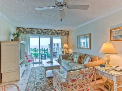 Photo for St Simons Island Spacious and Beachfront Condominium Great for Small Families!
