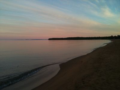 Photo for Superior Beach Cottage On Golden Sands Of Big Traverse Bay, Lake Superior