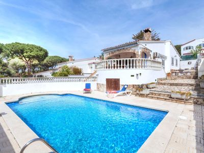 Photo for This 2-bedroom villa for up to 4 guests is located in L'Escala and has a private swimming pool......