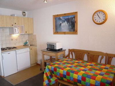 Photo for Apartment in the center of Tignes with Internet, Lift, Balcony (111681)