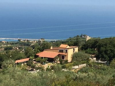 Photo for Villa Silvia between mountain and sea ideal for your relaxation.