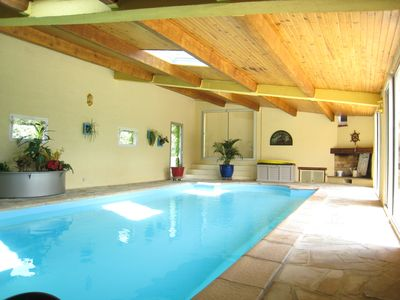 Photo for Holiday house with private pool and heated