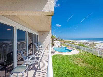 Photo for LUXURIOUS Oceanfront * Beachdrifter 201 South-end w wrap  around balcony