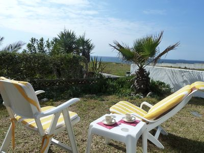 Photo for PORTO COVO - Great Spot - Beachfront  private Villa with 4 rooms