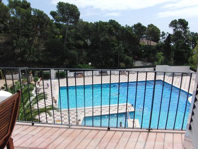 Photo for App 4 people- facing the sea- swimming pool- 100m beach- Calella de Palafrugell