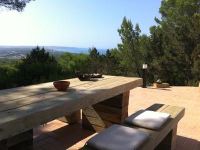 Photo for Charming house with spectacular views of Formentera
