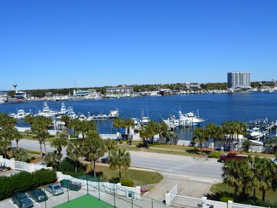 Photo for 10% Off🌞Remodeled Waterview Towers🌴🌴Top Floor🌞3BR/2BA Harbor View⛵⛵Boat Slip