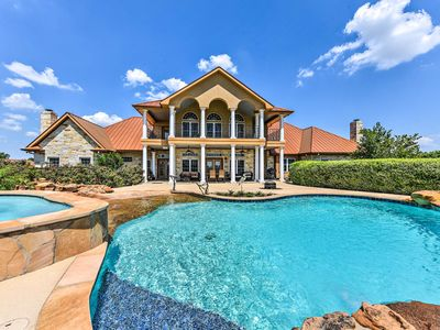 Photo for NEW! Lavish Brenham Home w/Theater, Hot Tub & Pond