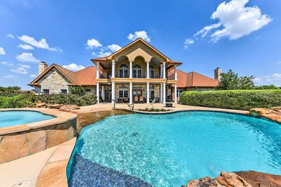 Experience Brenham from this spectacular 7-bedroom vacation rental estate house!