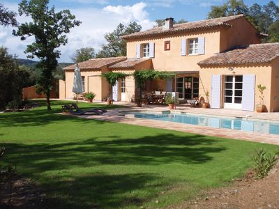Photo for Charming villa with swimming pool in the countryside Near St TROPEZ