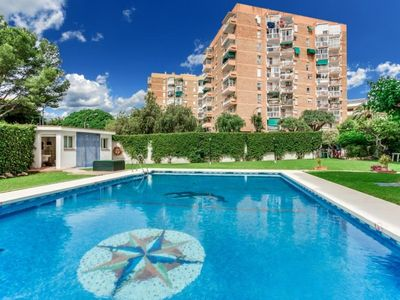 Photo for Apartment with pool in Benalmádena