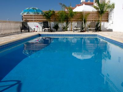 Photo for Villa 3 Bed Private pool and Jacuzzi allround panoramic views, free  Internet