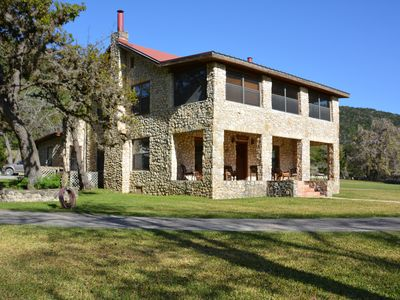 Photo for SPECTACULAR RANCH HOME ON A PRIVATE, WORKING EXOTIC ANIMAL RANCH