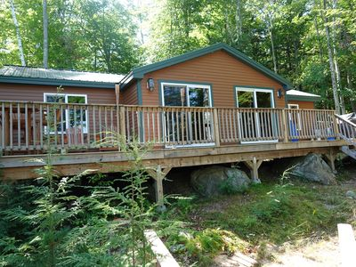 Photo for Waterfront Cabin with Private Dock on Rattlesnake Island, Lake Winnipesaukee, NH