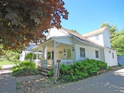 Photo for Updated Historical Cottage in Empire 3 blocks from Lake Michigan Beach