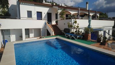 Photo for House (Mar y Colina) (sleeps 8) 3 bdrm, 3 bdrms, private pool, sea and hill views