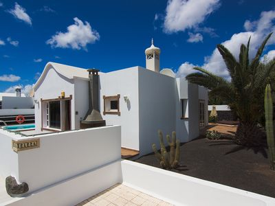 Photo for Cute Private Villa With Own Solarium-Garden. Heated pool and jacuzzy