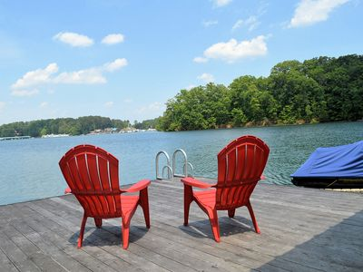 Photo for Comfortably Designed Lake Keowee Waterfront, Minutes to Clemson- In Seneca