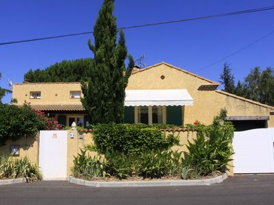Photo for VILLA 300m2 ON CLOSED GROUND AND SPORTS OF 1750m2 SWIMMING POOL. OFFER PROMO 10%