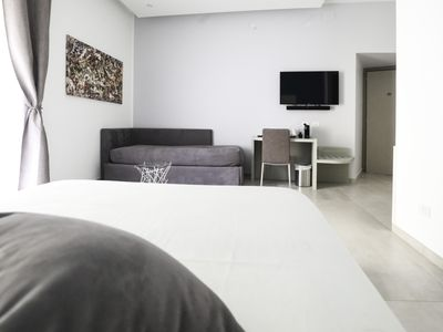 Photo for JUNIOR SUITE 4P WITH CITY VIEW + WIFI VERY CENTER OF NAPOLI