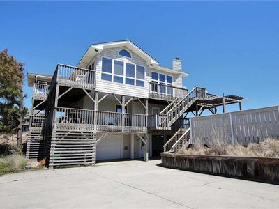 Photo for #OH2: Reduced Rates! OCEANSIDE Home in Corolla w/PRVTPool & HotTub, DogFriendly