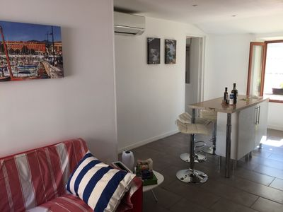 Photo for Nice 3 rooms 2 steps from the beaches