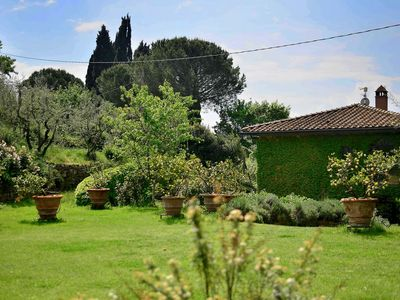 Photo for Wonderful private villa with WIFI, hot tub, private pool, TV, washing machine and parking