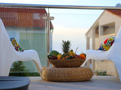 Photo for Apartment MELIN :One-Bedroom Apartment with Terrace and Sea View