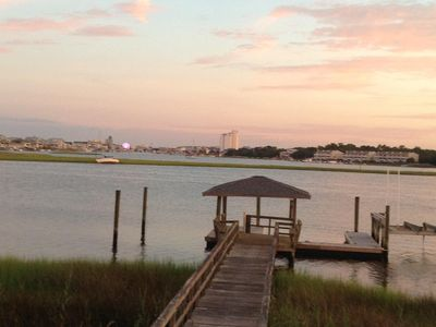 Photo for Waterfront Duplex ~ Three Blocks From The Ocean