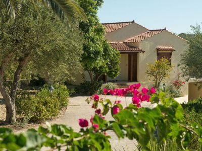 Photo for 2 bedroom Villa, sleeps 5 in Adele with Pool, Air Con and WiFi