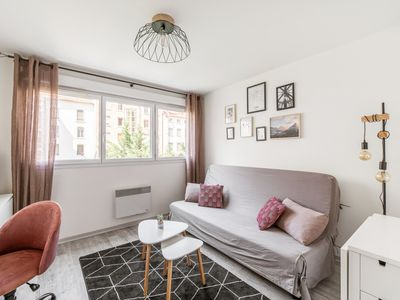 Photo for Bright and calm studio in Part-Dieu district - Welkeys
