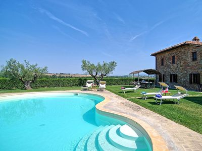Photo for Casale dei Frati is an amazing villa in Umbria close to Lake Trasimeno, 6 bedrooms 4 bathrooms sleep