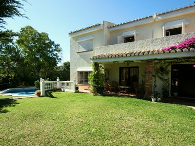 Photo for CHARACTER VILLA in CALAHONDA SPAIN  5 MINS WALK 2 BEACH, POOL, QUIET LOCATION