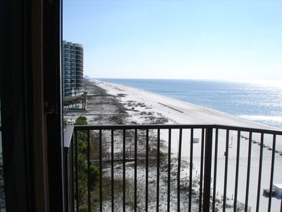 Photo for Beachfront 3 bedroom 3 bath east end of Orange Beach
